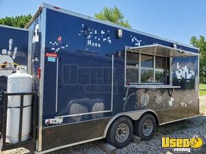 2015 - 8' x 18' Freedom Food Concession Trailer with a Commercial Kitchen for Sale in Wisconsin!