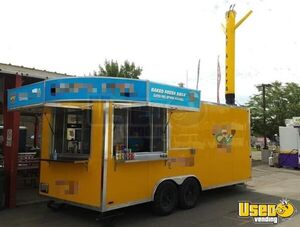 2017 - 8.5' x 20' Quality Food Pizza Soft Serve Concession Trailer for Sale in Wyoming!