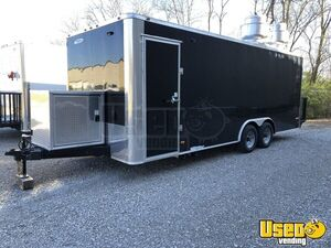 Fully Loaded 2019 - 8.5' x 22' Freedom Food Concession Trailer with Restroom for Sale in Wyoming!