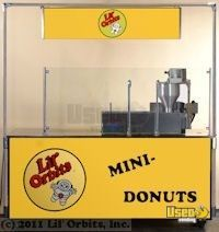 Lil Orbits Electric Ss1200, F60-12df Downdraft/fire Suppression System Donut Cart & Matching Working Station Cart. Cart 4 Florida for Sale - 4