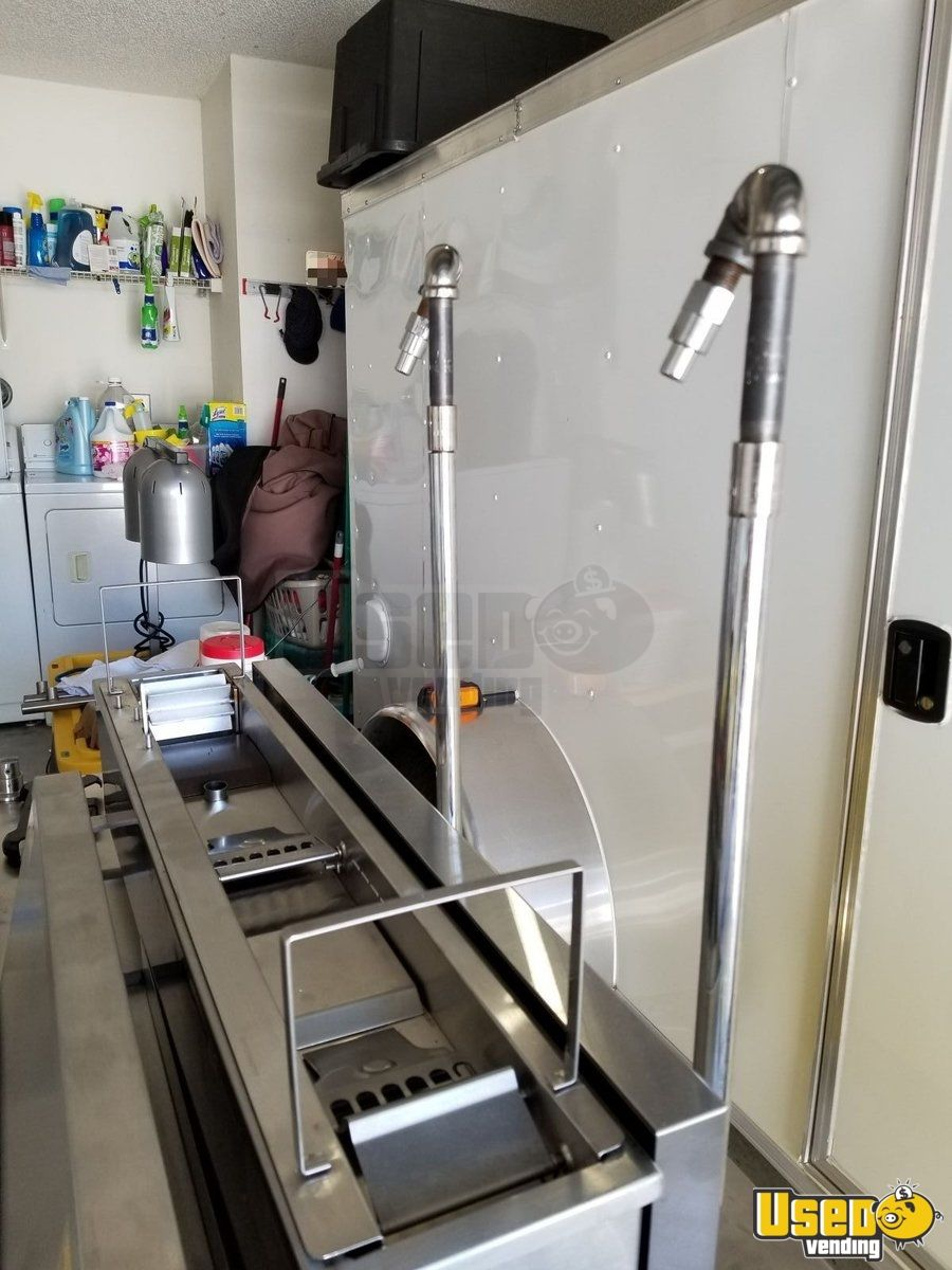 Lil Orbits Electric Ss1200, F60-12df Downdraft/fire Suppression System Donut Cart & Matching Working Station Cart. Cart 9 Florida for Sale - 9