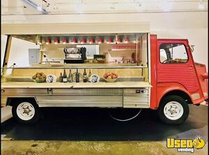 Charming Vintage 1974 Citroen HY Van 18' Canteen Food Truck for Sale in Florida!