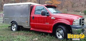 2006 Ford F350 Diesel Lunch Serving / Canteen Style Food Truck for Sale in Georgia!