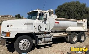 1998 Mack CL 613 Western Demo Dump Truck 375hp E7 13-Speed MT for Sale in California!