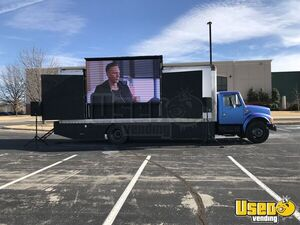 International Diesel 4600 Mobile Movie Theater LED Video Marketing Truck for Sale in Oklahoma!