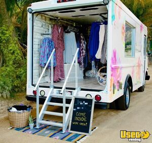 Gorgeous Chevrolet P30 Step Van Mobile Boutique / Used Fashion Truck for Sale in California!