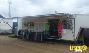 32' Continental Cargo Mobile Marketing Trailer with Shirt Printing Equipment for Sale in Minnesota!