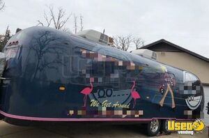 Beautifully Retrofitted 6.5' x 31' Vintage Airstream Mobile Marketing Trailer for Sale in Texas!