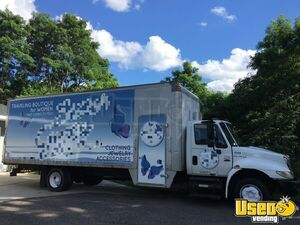 2002 International DIESEL 4300 Box Truck w/ Dressing Room for Sale in Michigan!