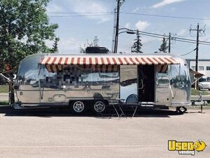 Vintage 1977 Airstream Mobile Barbershop for Sale in Alberta!!