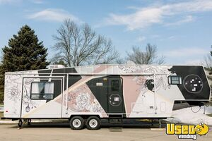 Elegant 36' Mobile Beauty and Hair Salon / Bridal Suite Trailer for Sale in Minnesota!