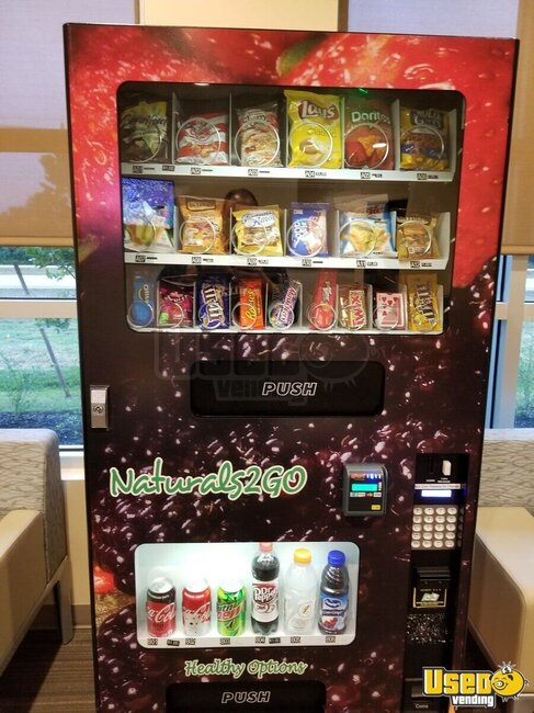 Naturals 2 Go Vending Combo Florida for Sale
