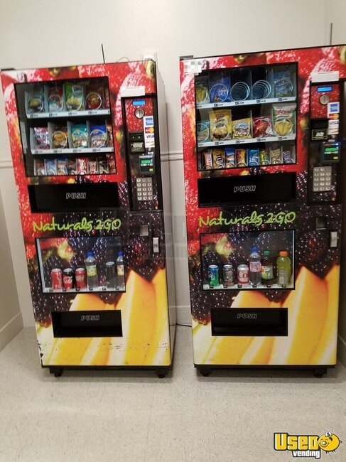 Naturals 2 Go Vending Combo Georgia for Sale