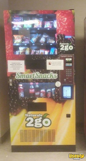 2015 Naturals 2 Go Healthy Combo N24000 Snack & Drink Vending Machines for Sale in Texas!