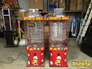 Ok Manufacturing Large / Kinetic Gumball Machine 2 Indiana for Sale