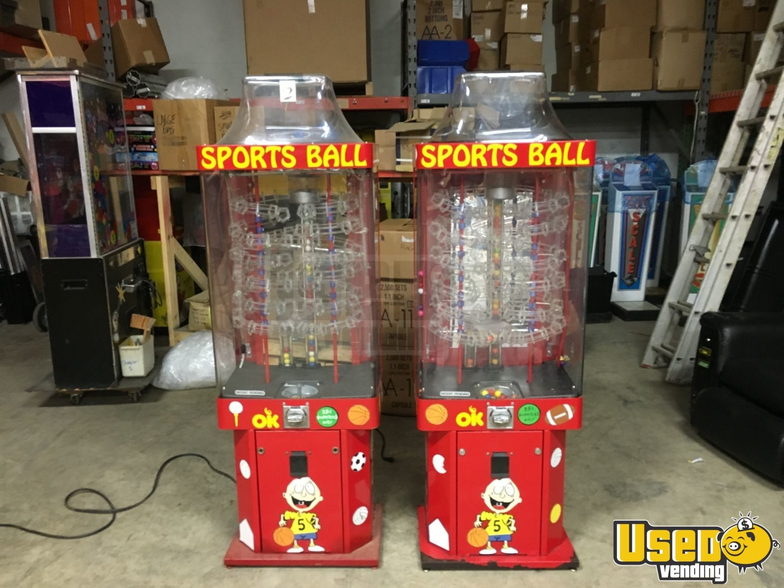 Ok Manufacturing Large / Kinetic Gumball Machine 2 Indiana for Sale - 2