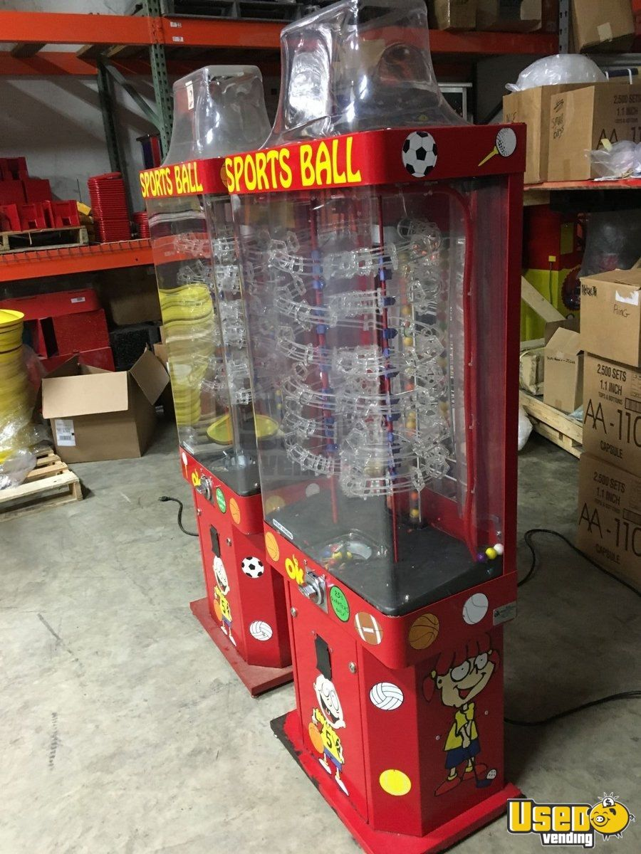 Ok Manufacturing Large / Kinetic Gumball Machine 3 Indiana for Sale - 3