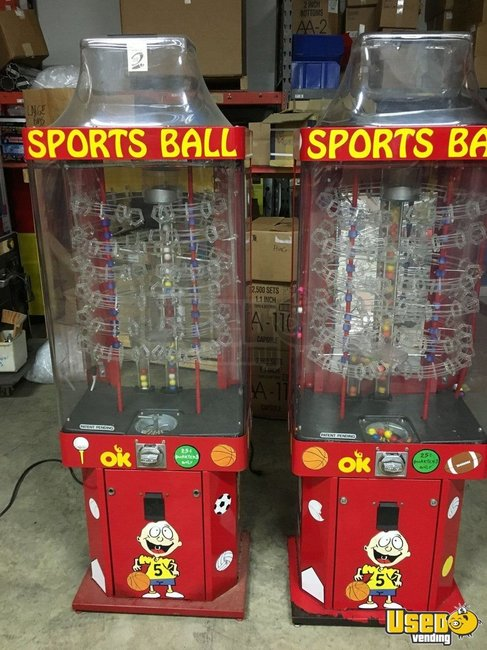 Ok Manufacturing Large / Kinetic Gumball Machine Indiana for Sale