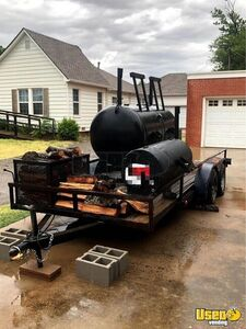 Open Bbq Smoker Tailgating Trailer Open Bbq Smoker Trailer Additional 1 Oklahoma for Sale