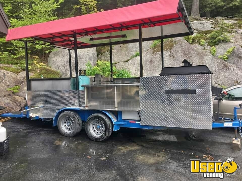 Open Bbq Smoker Trailer 2 Vermont for Sale - 2