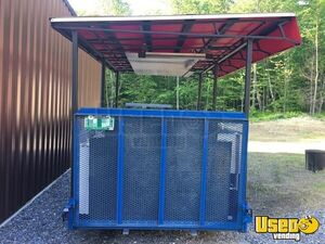 Open Bbq Smoker Trailer 3 Vermont for Sale