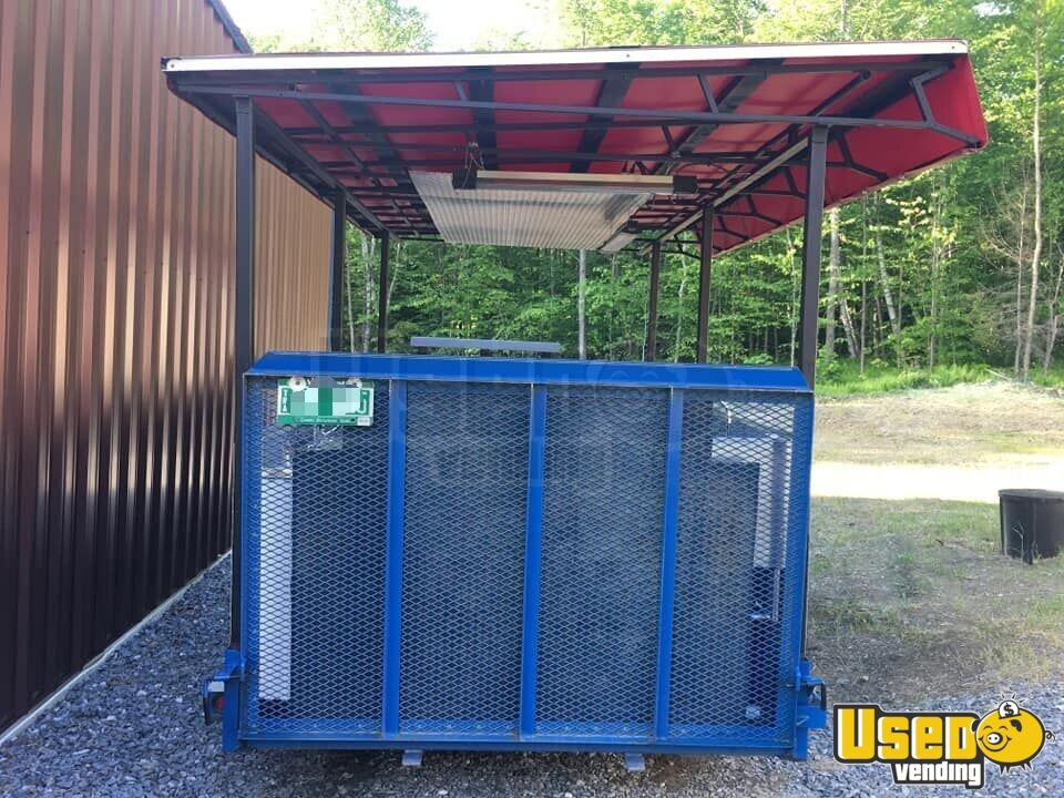 Open Bbq Smoker Trailer 3 Vermont for Sale - 3
