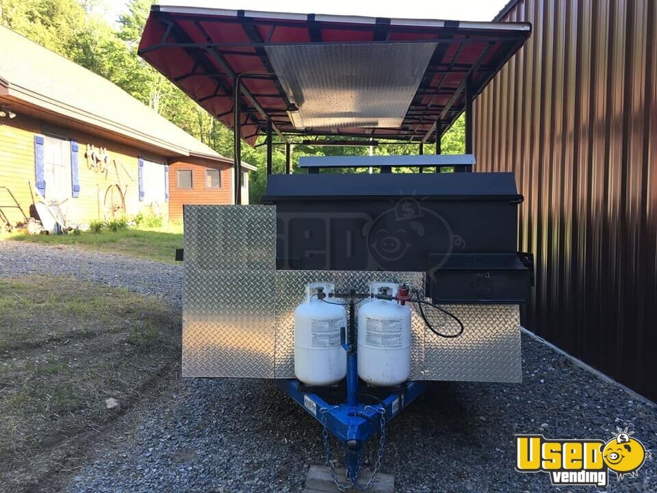 Open Bbq Smoker Trailer 4 Vermont for Sale - 4
