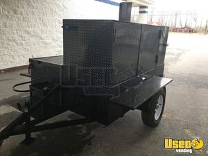 Brand New 2020 7' x 9' 3-Rack Cabinet Open BBQ Smoker Trailer for Sale in Alabama!