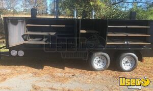 NEW 2019 6' x 20' Open Barbecue Smoker Trailer / Mobile Barbecue Unit for Sale in Alabama!
