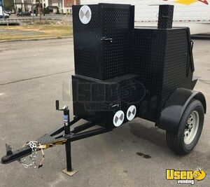 NEW 6' x 7' Open Barbecue Pit Smoker Tailgating Trailer Custom-Built for Sale in Alabama!