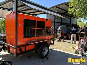Lightly Used 2019 7.5' x 14' Open Barbecue Smoker Trailer / Barbeque Pit Smoker for Sale in Arizona!