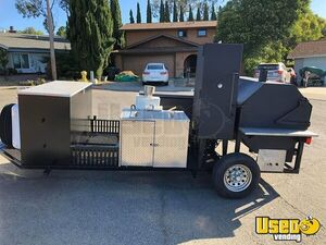 2012 5.5' x 22' Open BBQ Smoker Trailer/BBQ Tailgating Trailer for Sale in California!