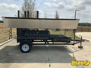 Stainless Steel 2017 - 7' x 16' Open Barbecue Smoker Tailgating Trailer for Sale in Florida!!