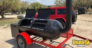 New Custom-Made 250 Gallon Double Rack Smoker on a Trailer / Tailgating Trailer for Sale in Florida!