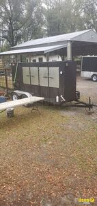 14' Open BBQ Smoker on a Trailer / Used Barbecue Tailgating Trailer for Sale in Florida!