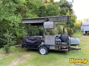 Open BBQ Smoker Grill / Crawfish Crab Seafood Boil Tailgating Trailer for Sale in Louisiana!