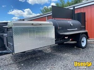 2013 - 5' x 10.5' Commercial Open BBQ Grill and Smoker Food Trailer for Sale in New Jersey!!!