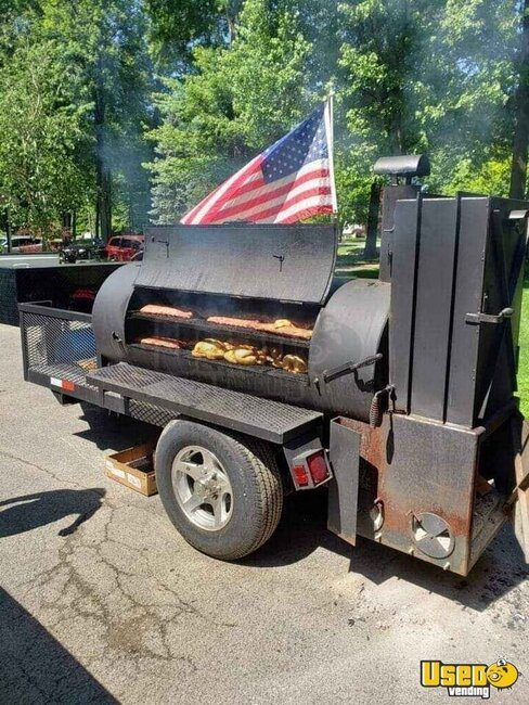 Open Bbq Smoker Trailer Open Bbq Smoker Trailer Ohio for Sale