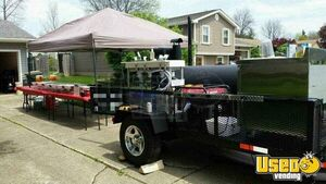 Open Bbq Smoker Trailer Open Bbq Smoker Trailer Refrigeration Ohio for Sale