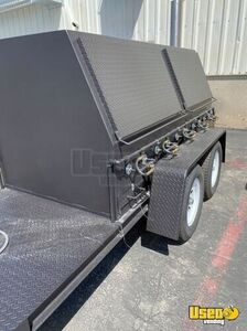 Open Bbq Smoker Trailer Open Bbq Smoker Trailer Spare Tire Utah for Sale