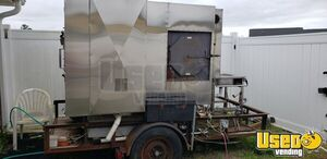 2002 - 5.3'  x 7.125' Trailer-Mounted Towable Ole Hickory Smoker for Sale in South Carolina!
