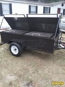 Used Mobile BBQ Unit / Open Barbecue Smoker Tailgating Trailer for Sale in South Carolina!