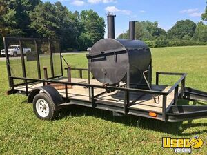 Custom-Built Barbeque Tailgating Trailer / Open Barbecue Smoker Trailer for Sale in North Carolina!