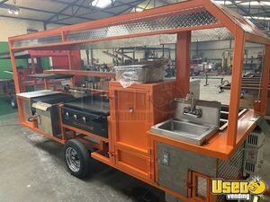 NEW 2020 4' x 12' Open BBQ Smoker Food Concession Trailer for Sale in Texas!