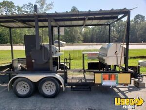 Custom-Built Barbecue Pit / Used Mobile BBQ Unit in Excellent Working Condition for Sale in Texas!