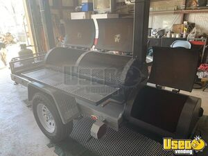 2020  - 4' x 14' Reverse Direct Flow Barbecue Smoker Tailgating Trailer for Sale in Texas!!