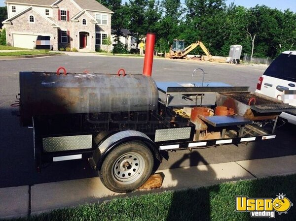 Open Bbq Smoker Trailer Virginia for Sale
