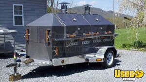2012 - 6' x 15' Commercial BBQ Smoker Food Trailer for Sale in Virginia!!!