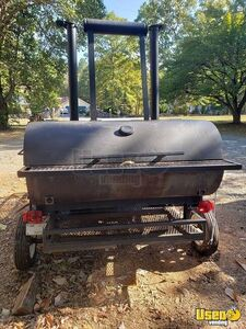 Well-Built 8' x 6' Open BBQ Smoker Trailer/Used Tailgating BBQ Trailer for Sale in Virginia!