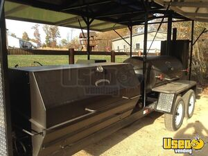 Amazing 2014 7' x 20' Meadow Creek Open BBQ Smoker Trailer/BBQ Pit for Sale in West Virginia!